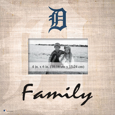 Detroit Tigers Family Picture Frame