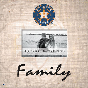Houston Astros Family Picture Frame