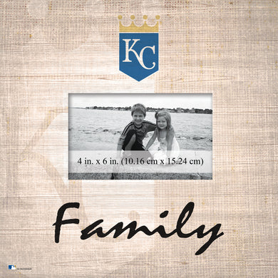 Kansas City Royals Family Picture Frame