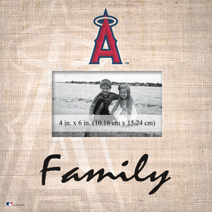 Los Angeles Angels Family Picture Frame