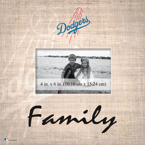 Los Angeles Dodgers Family Picture Frame