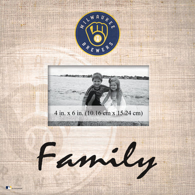 Milwaukee Brewers Family Picture Frame