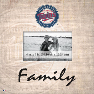 Minnesota Twins Family Picture Frame