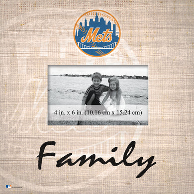 New York Mets Family Picture Frame