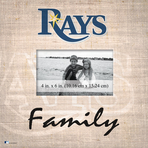 Tampa Bay Rays Family Picture Frame