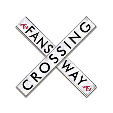 Atlanta Braves Fans Way Crossing Wall Art