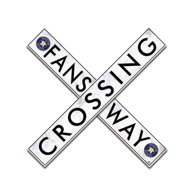 Houston Astros Fans Way Crossing Wall Art