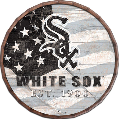 Chicago White Sox Flag Barrel Top