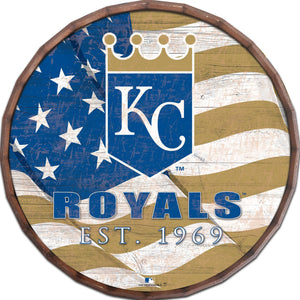 Kansas City Royals Flag Barrel Top