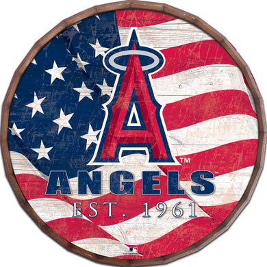 Los Angeles Angels Flag Barrel Top