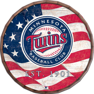 Minnesota Twins Flag Barrel Top