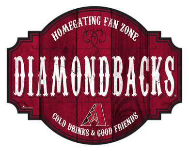 Arizona Diamondbacks Homegating Wood Tavern Sign -24