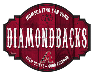 Arizona Diamondbacks Homegating Wood Tavern Sign -12""