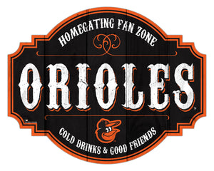 Baltimore Orioles Homegating Wood Tavern Sign -12""