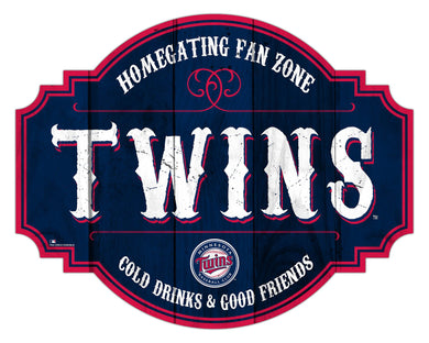 Minnesota Twins Homegating Wood Tavern Sign -12