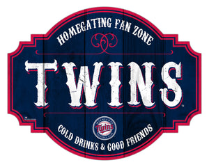 Minnesota Twins Homegating Wood Tavern Sign -24""