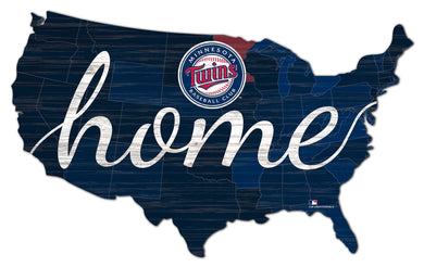 Minnesota Twins USA Shape Home Cutout