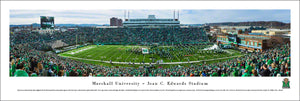 Marshall Thundering Herd Joan C. Edwards Stadium Panoramic Picture