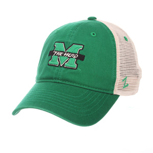 Marshall Thundering Herd Skirmish Adjustable Snapback Hat