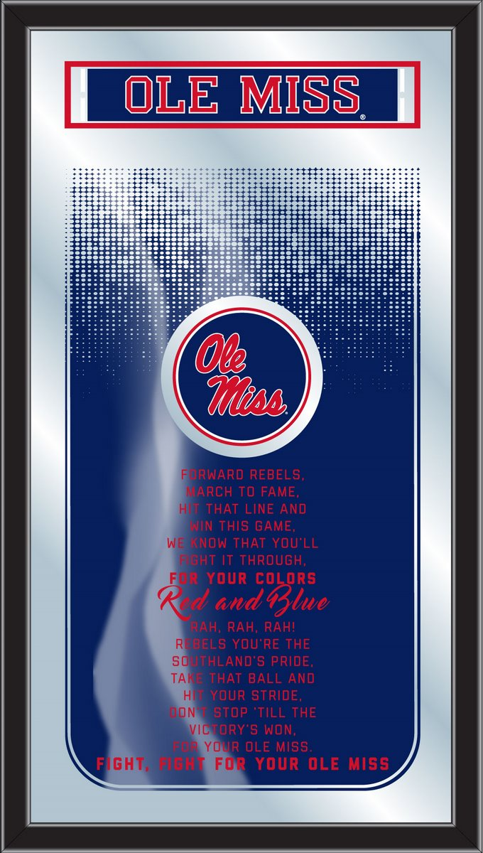 Ole' Miss Rebels Fight Song Mirror