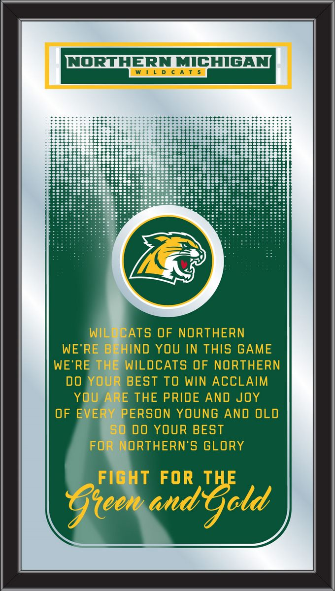 Northern Michigan Wildcats Fight Song Mirror
