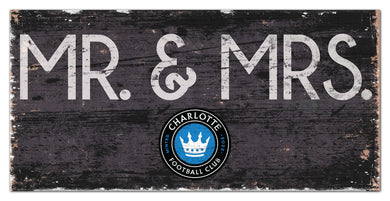 Charlotte FC Mr. & Mrs. Wood Sign - 6