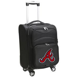 Atlanta Braves Luggage Carry-On 21in Spinner Softside Nylon