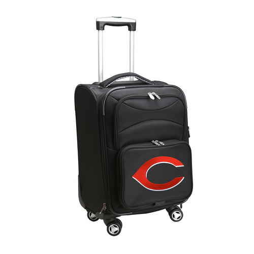 Cincinnati Reds Luggage Carry-On 21in Spinner Softside Nylon