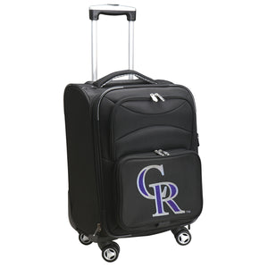 Colorado Rockies Luggage Carry-On 21in Spinner Softside Nylon