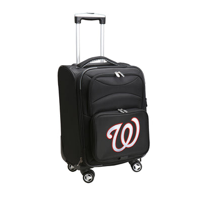Washington Nationals Luggage Carry-On 21in Spinner Softside Nylon
