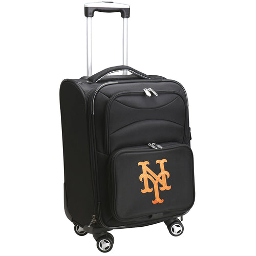 New York Mets Luggage Carry-On 21in Spinner Softside Nylon