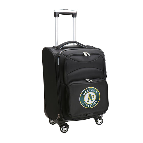 Oakland Athletics Luggage Carry-On 21in Spinner Softside Nylon