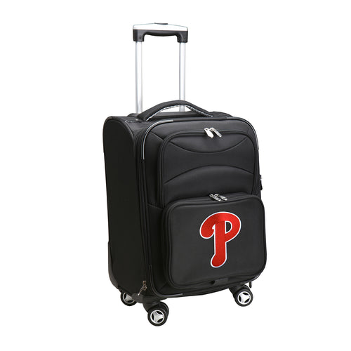 Philadelphia Phillies Luggage Carry-On 21in Spinner Softside Nylon