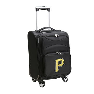 Pittsburgh Pirates Luggage Carry-On 21in Spinner Softside Nylon
