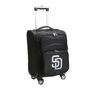 San Diego Padres Luggage Carry-On 21in Spinner Softside Nylon
