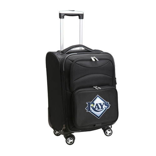 Tampa Bay Rays Luggage Carry-On 21in Spinner Softside Nylon