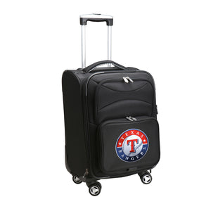 Texas Rangers Luggage Carry-On 21in Spinner Softside Nylon