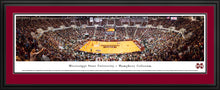 Mississippi State Bulldogs Basketball Humphrey Coliseum Panoramic Picture