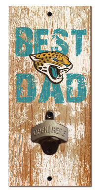 Jacksonville Jaguars Best Dad Bottle Opener