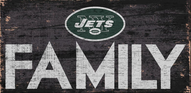 New York Jets Family Wood Sign