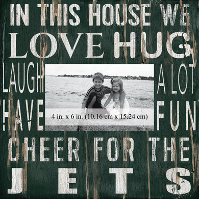 New York Jets In this House Picture Frame