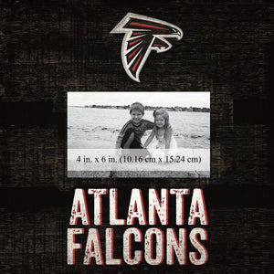 Atlanta Falcons Team Logo Picture Frame