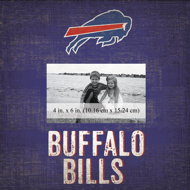 Buffalo Bills Team Logo Picture Frame