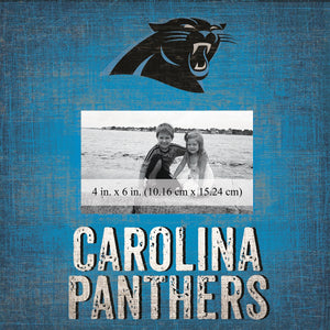 Carolina Panthers Team Logo Picture Frame