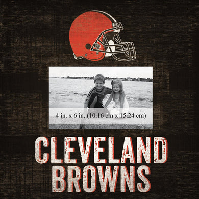 Cleveland Browns Team Logo Picture Frame