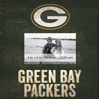 Green Bay Packers Team Logo Picture Frame