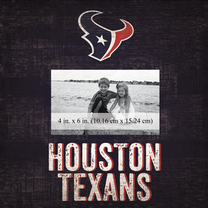 Houston Texans Team Logo Picture Frame