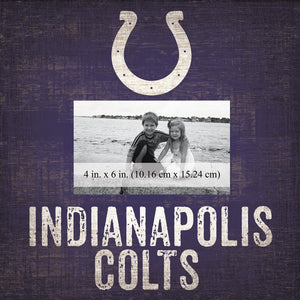 Indianapolis Colts Team Logo Picture Frame