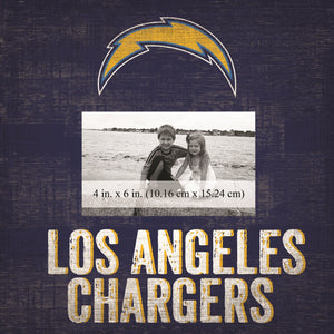 Los Angeles Chargers Team Logo Picture Frame
