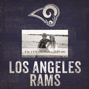 Los Angeles Rams Team Logo Picture Frame